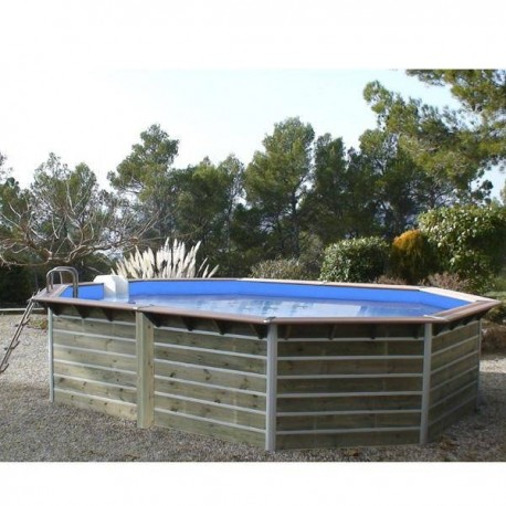Piscine hors sol bois kolding waterclip for Piscine waterclip