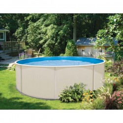 piscine structure acier ronde ovale solide blanc bois hors sol a z piscine. Black Bedroom Furniture Sets. Home Design Ideas