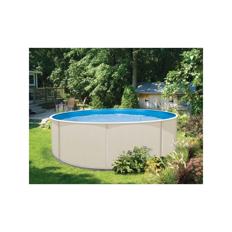 Piscine hors sol acier topaze for Astral piscine france