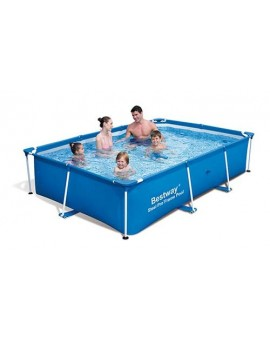 Piscine Tubulaire rectangulaire Bestway My first Frame Pool L.2,59m x l.1,70m x h.0,61m