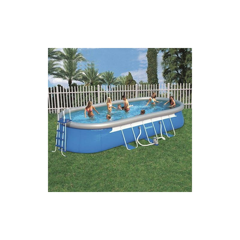 Piscine hors sol autoportante bestway for Piscine autoportante