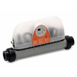 Réchauffeur électrique Droit Zodiac 9 kW Titane Mono OU Tri 60m3