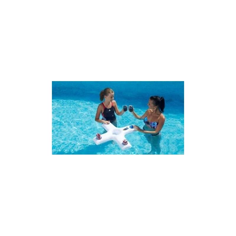 Matelas et si ges flottants kerlis for Bar flottant pour piscine