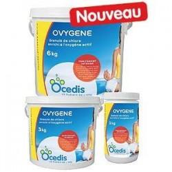 Chlore enrichi à l'oxygène actif Ovygène