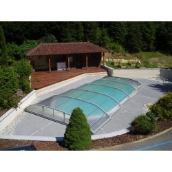 Abris bas de piscine Elitys Ansea