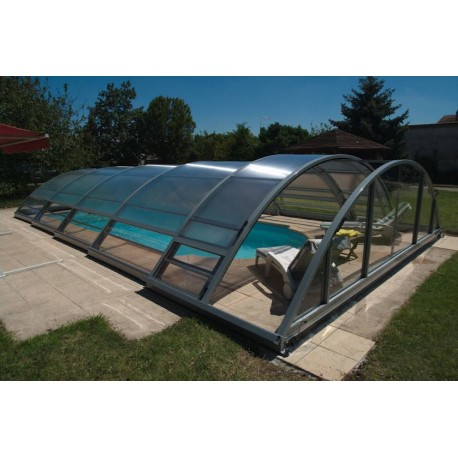 Abris mi haut de piscine for Pieces detachees pour abri de piscine
