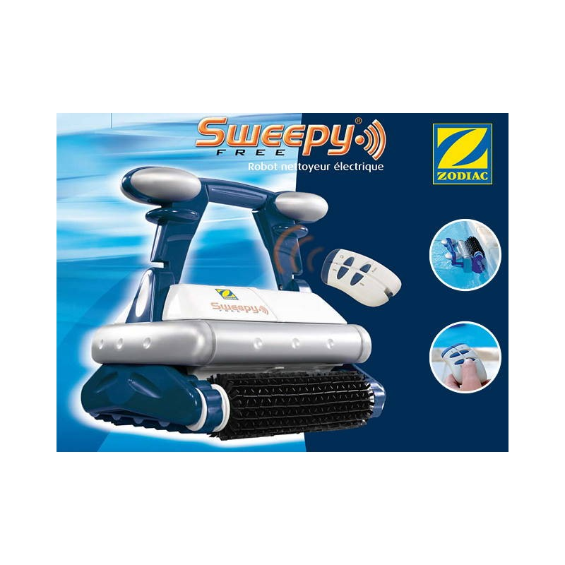 Robot piscine electrique zodiac siege de bureau design for Robot piscine sweepy free zodiac