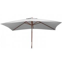 Parasol bois 3x2 m