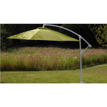 Parasol déporté fibre de verre 300 Eco