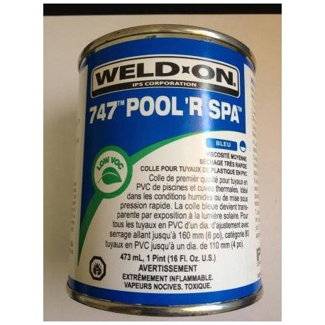 Colle bleue PVC 237 ml