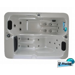 Spa 2 personnes style two 1950 x 1400 x 680 mm