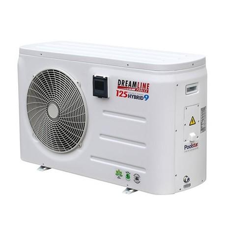 Pompe à chaleur Poolex DreamLine Hybrid 13 kW + 6 kW Mono 65-95m3