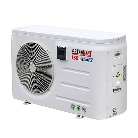 Pompe à chaleur Poolex DreamLine Hybrid 16 kW + 12 kW Mono 90-120m3
