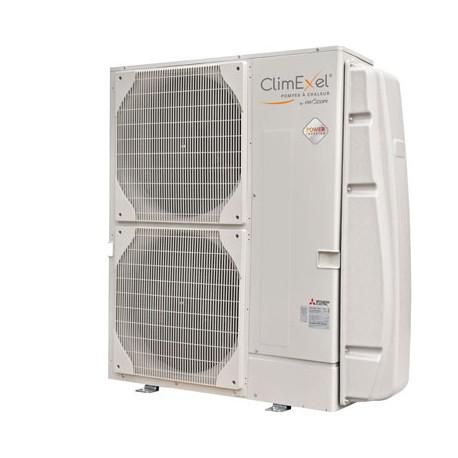Pompe à chaleur Climexel MPI 24 kW Tri 156m3