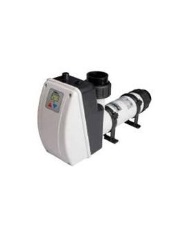 Réchauffeur électrique Aqua-line 6 kW titane