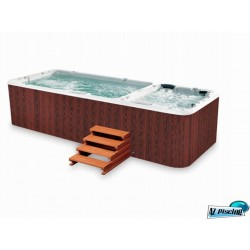 Spa de nage bi-zone 5750 x 2250 x 1280 mm