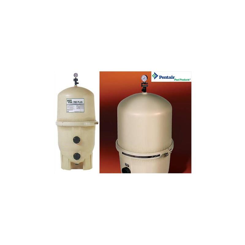 Filtre diatom e pentair fns plus avec vanne 2 11m3 h for Diatomee piscine