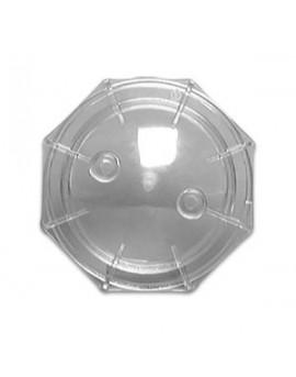 Couvercle et joint SNTE Jupiter 6'' transparent