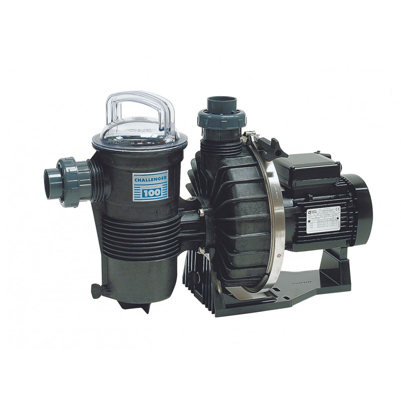 Pompe de filtration challenger kw mono 25m3 h a z for Pompe a chaleur piscine 25m3