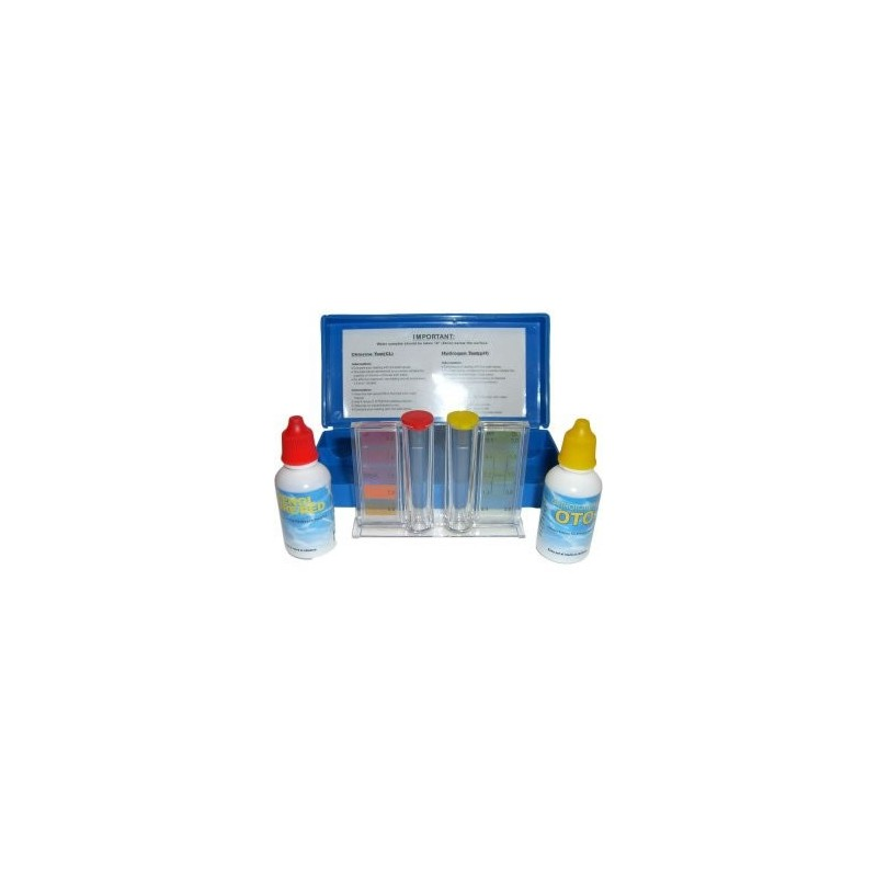 Trousse d 39 analyse chlore et ph a z piscine for Chlore et piscine