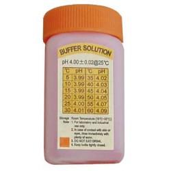 Flacon d'étalonnage pH 4