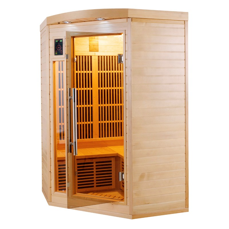 sauna infrarouge apollon 2 3 places a z piscine. Black Bedroom Furniture Sets. Home Design Ideas
