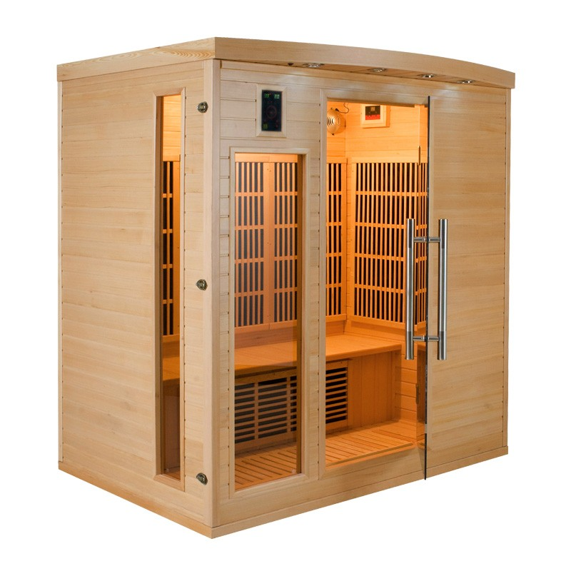 Sauna infrarouge apollon 4 places a z piscine - Sauna infrarouge 4 places ...
