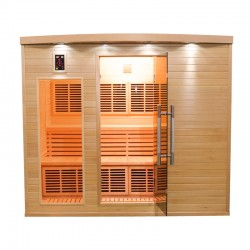 Sauna Infrarouge APOLLON - 4/5 Places