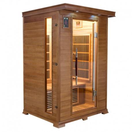 Sauna Infrarouge LUXE - 2 Places