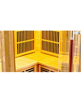 Sauna Infrarouge LUXE - 3/4 Places