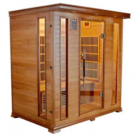Sauna Infrarouge LUXE - 4 Places