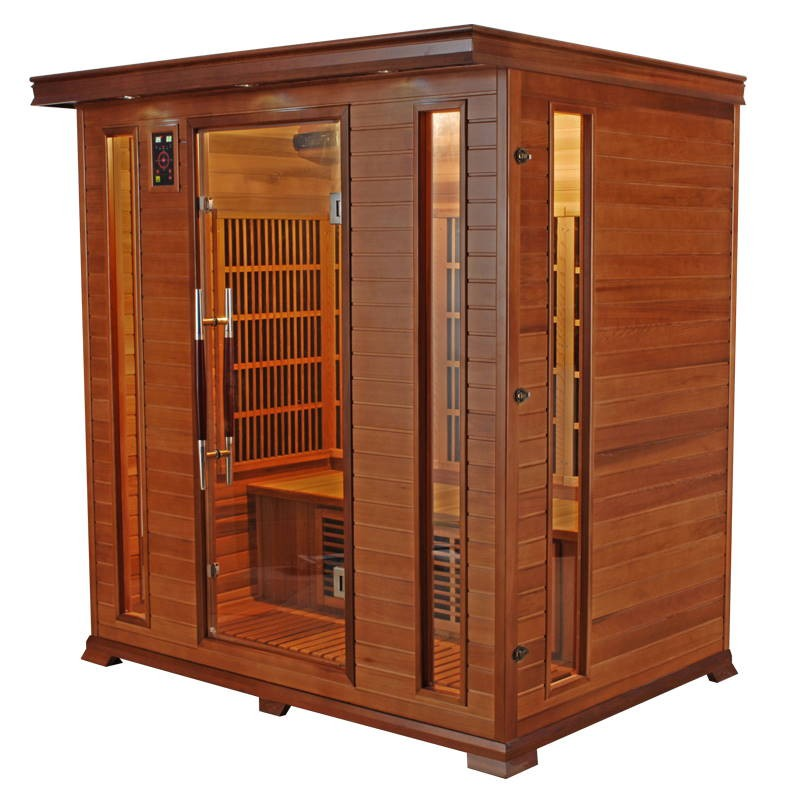 Sauna infrarouge luxe 4 places a z piscine - Sauna infrarouge 4 places ...