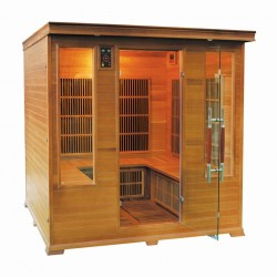 Sauna Infrarouge LUXE Club - 4/5 Places
