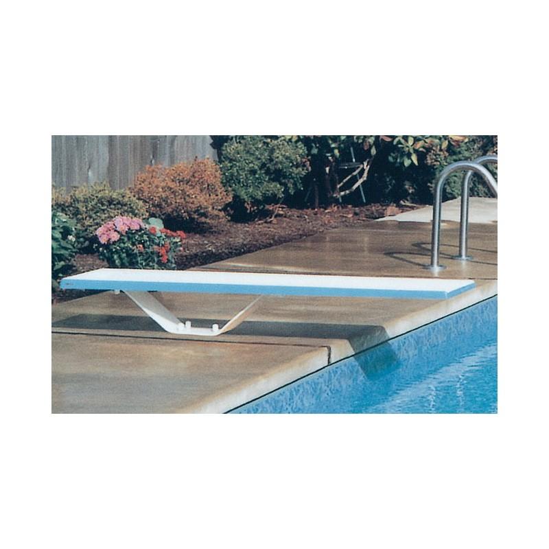 kit complet socle bo tier de scellement pour plongeoir droit m a z piscine. Black Bedroom Furniture Sets. Home Design Ideas