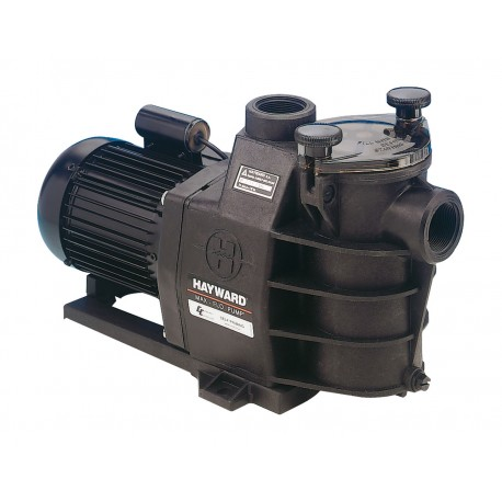 Pompe de filtration hayward max flo 15m3 h compatible eau for Pompe piscine hayward