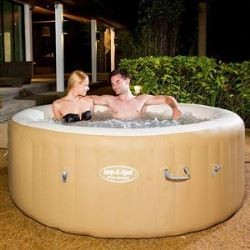 Lay-z-Spa Rond - Palm Spring Gonflable 4/6 Places 1,32 m3/h