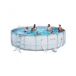 Kit Piscine Ronde Power Steel Frame Pools 5,49m x h 1,32m