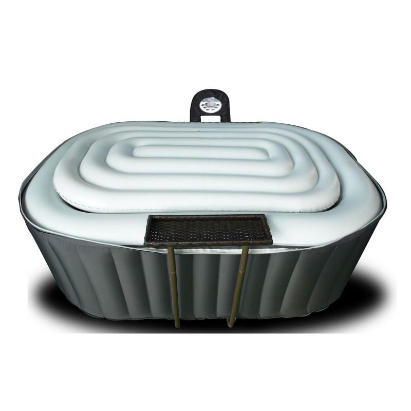 couvercle gonflable pour spa ovale 2 personnes a z piscine. Black Bedroom Furniture Sets. Home Design Ideas