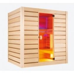 Pure Quartz Combi - Sauna Infrarouge et Vapeur