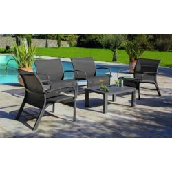 Set lounge linea royal gris
