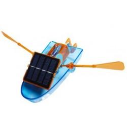 Mini bateau solaire 16 cm x 9 cm x 5 cm