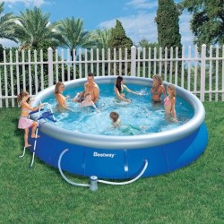 Kit Piscine Ronde Fast Set Pools Diamètre 4,57m x h 0,91m