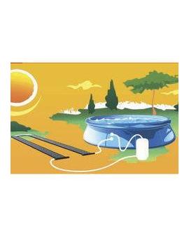 Chauffage solaire Heliocol - terracotta pour bassins enterrés