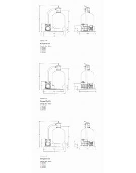 Platine de filtration Azur 7m3/h