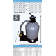 Platine de filtration Magic 400 EH Gris 6m3/h