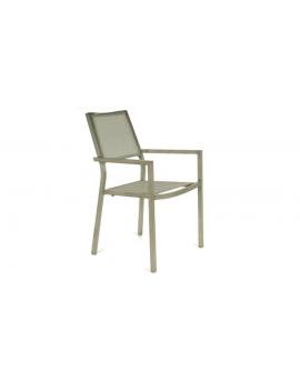 Lot de 2 fauteuils empilables Florence