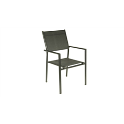 Lot de 6 fauteuils empilables Sartene