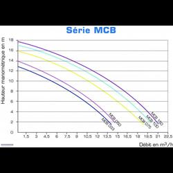 Pompe de filtration VIPool MCB Compatible Eau Saline et Eau de Mer