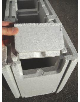 Piscine en kit Polystyrène 10x5 fond plat 1m50 avec escalier d'angle