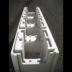 Piscine en kit Polystyrène 12x6 fond plat 1m50 avec escalier droit